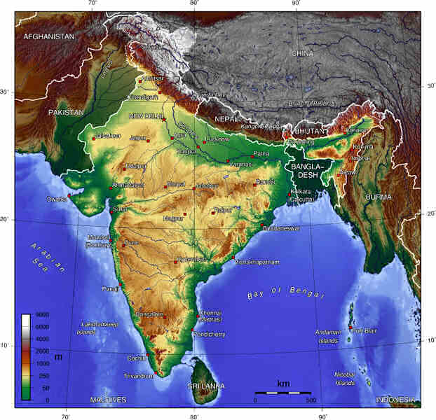 Cartina India Pakistan.Some Hindu Muslim History 8 15 2008 Bill S Faith Matters Blog