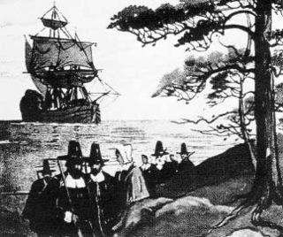 Pilgrims-at-Plymouth