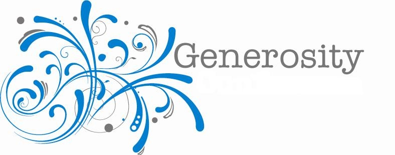 """generous generosity 349 quotes have been tagged as generosity: john holmes: 'there is no exercise   """"the most truly generous persons are those who give silently without hope of."""
