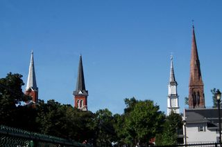 Church-steeples