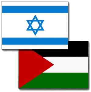 Israel-Palestine_flags