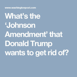 Johnson-amendment