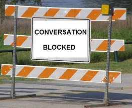 Conversation-blocked