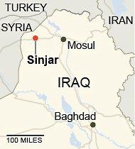 Sinjar-map