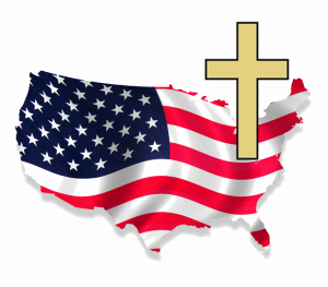America-flag-cross