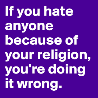 Wrong-religion