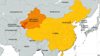 Xinjiang, homeland of the Uighurs