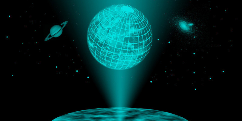 Holographic-world