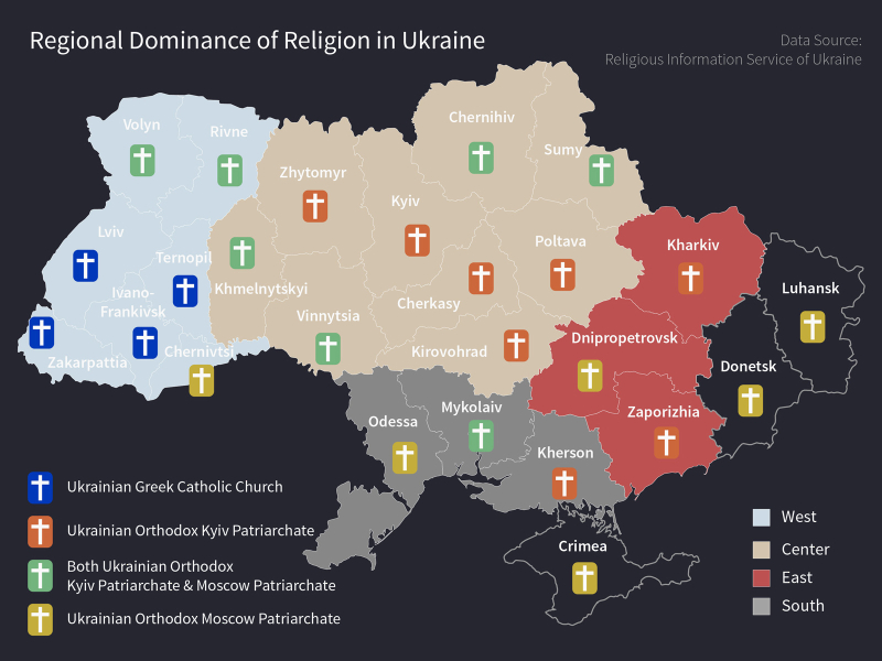 Ukraine-Religion-Map