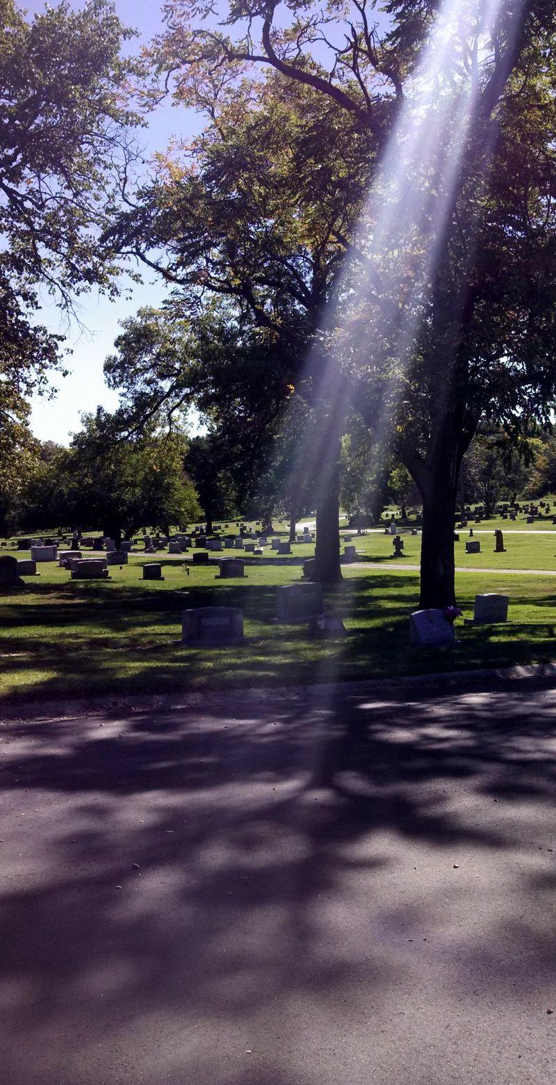 Cemetery-light