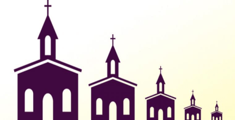 Shrinking-church