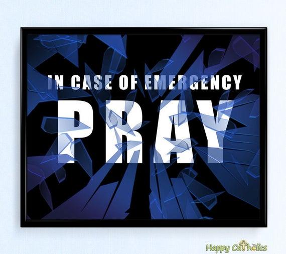 Emergency-prayer
